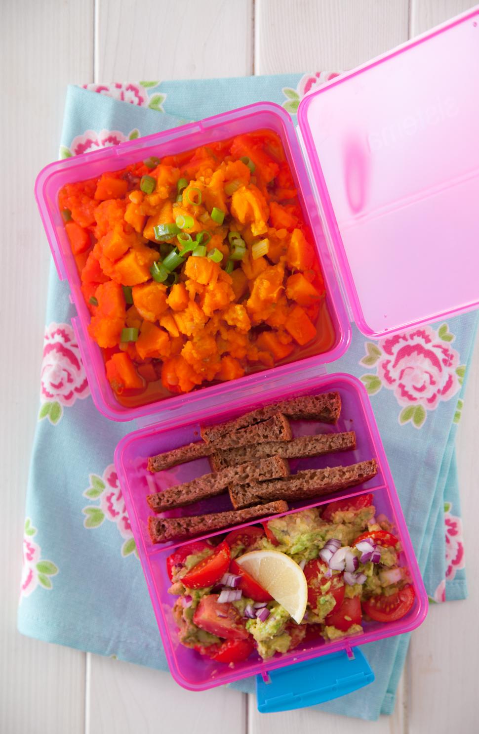 Lunch box 450 kcal. Jedz smacznie w pracy :)