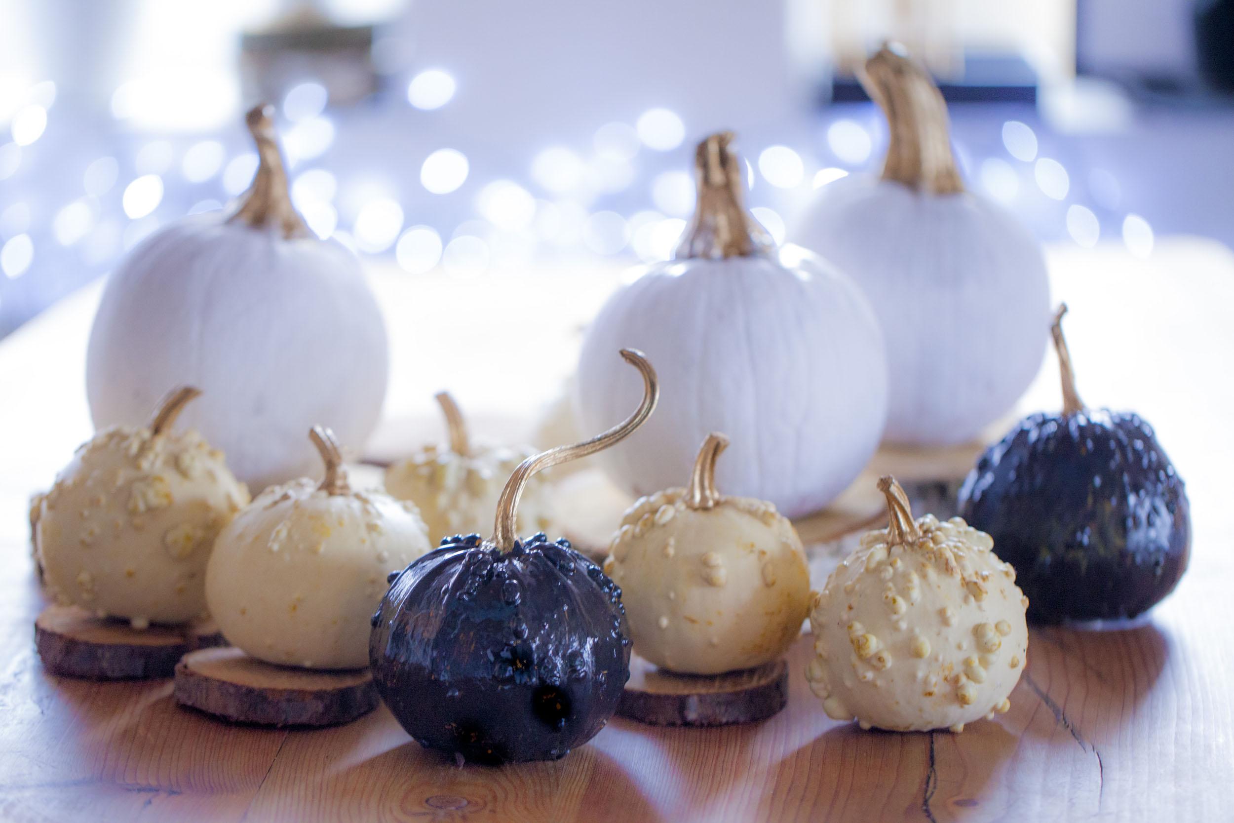 Malowane dynie – pomysł na jesienną dekorację DIY