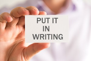 Lawyers need to communicate in writing