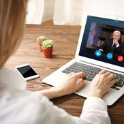 Video conference and law firms