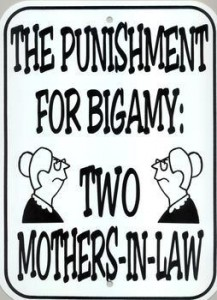 Bigamy – the legal provisions