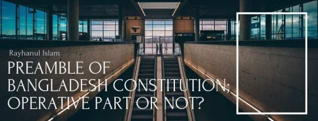 Preamble of Bangladesh Constitution