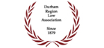 Durham Region Law Association logo