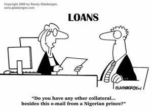 Banks. Nigerian e-mail