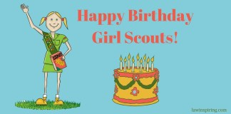 Happy birthday girl scouts