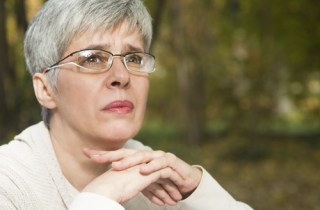 older woman concerned age discrimination