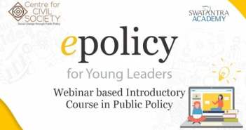 Applications open for CCS 2-day online introductory course in Public Policy 'epolicy' | 31 Oct. – 1 Nov
