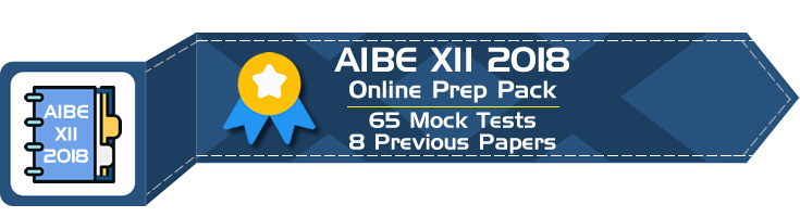 AIBE XII 2018 Mock Tests Previous Question Papers - LawMint.com