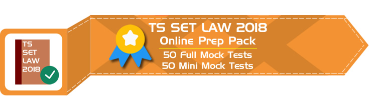 TS SET 2018 Paper II Law - Telangana State Eligibility Test Previous Question Papers Sample Papers Mock Tests