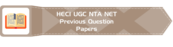 UGC NTA NET Paper 1 HECI Previous Question Papers Mock Tests