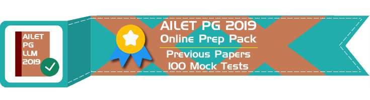 AILET PG LLM 2019 Mock Tests Previous Question Papers NLU Delh Entrance