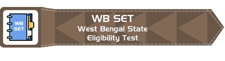 WBSET West Bengal State Eligibility Test Official Notification Mock Tests Sample Papers