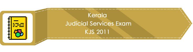 Kerala Judicial Services Exam KJS 2011 LawMint.com Judiciary Exam Mock Tests Civil Judge Previous Papers Legal Test Series MCQs Study Material Model Papers