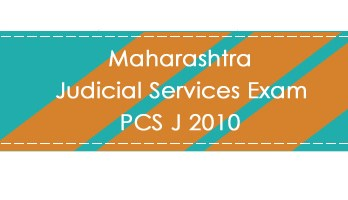 Maharashtra Judicial Services Exam PCS J 2010 LawMint.com Judiciary Exam Mock Tests Civil Judge Previous Papers Legal Test Series MCQs Study Material Model Papers