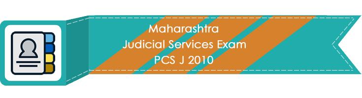 Maharashtra Judicial Services Exam PCS J 2010 LawMint.com Judiciary Exam Mock Tests Civil Judge Previous Papers Legal Test Series MCQs Study Material Model Papers