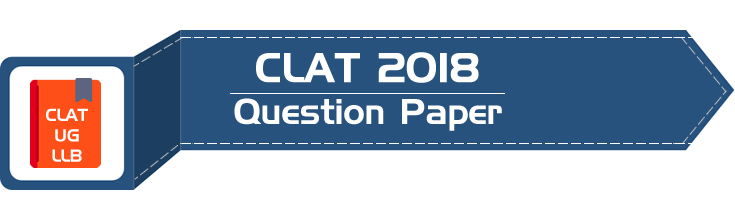 CLAT 2018 Question Paper Solved Answer Key Free PDF Download LawMint Mock Test Series LLB