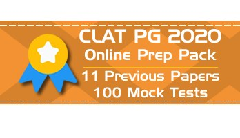 CLAT PG 2020 LLM Entrance Previous Question Papers pdf Mock Test Series Free Demo
