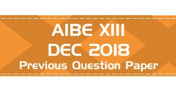 AIBE XIII 2018 Previous Question Paper AIBE Mock Test Free Download pdf Official AIBE syllabus