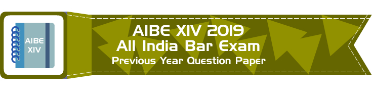 AIBE XIV 14 All India Bar Exam 2019 Previous Year Question Papers Download Free Mock Tests