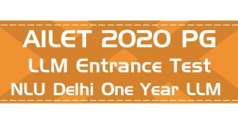 AILET 2020 PG LLM Entrance NLU Delhi Syllabus Pattern Age limit Previous Question Papers Mock Test Model Paper