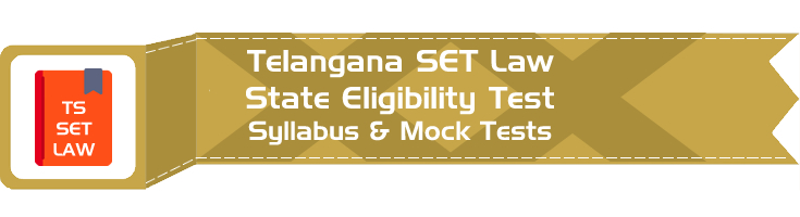 TS SET Law Telangana State Eligibility Test Law Syllabus Eligibility Mock Tests Model Papers Previous Papers