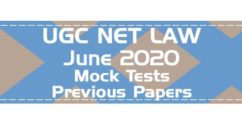 UGC NET Law June 2020 Syllabus Eligibility Previous Question Papers Sample Papers Mock Test Series
