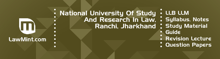 National University Study Research In Law LLB LLM Syllabus Revision Notes Study Material Guide Question Papers 1