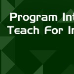Program Intern Teach for India Internship Opportunity