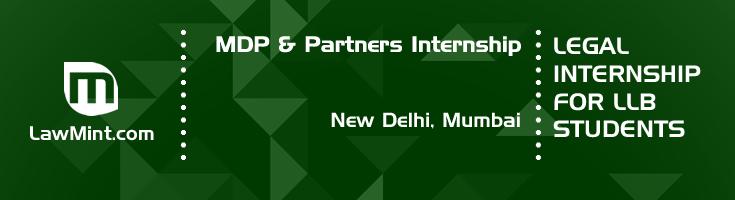 mdp and partners internship application eligibility experience new delhi mumbai