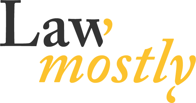 Law, mostly  – Expert training and analysis in commercial