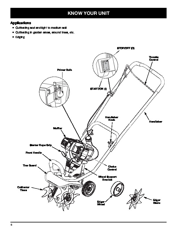 Craftsman Edger Lawn Power