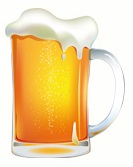 Beer mug - right