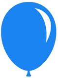 Balloon - blue