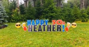 Happy 50th Heather!
