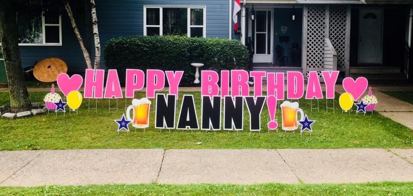 Happy Birthday Nanny!