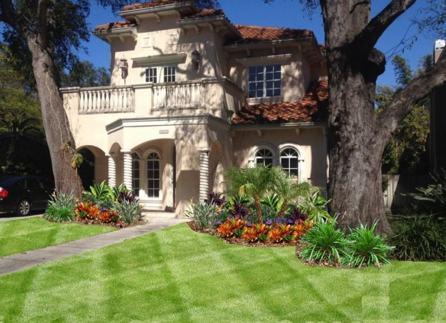 South Tampa Landscape Design