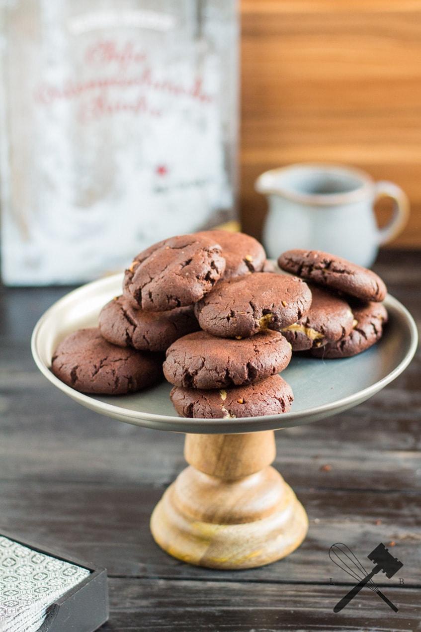 rezension schoko erdnussbutter cookies law of baking. Black Bedroom Furniture Sets. Home Design Ideas