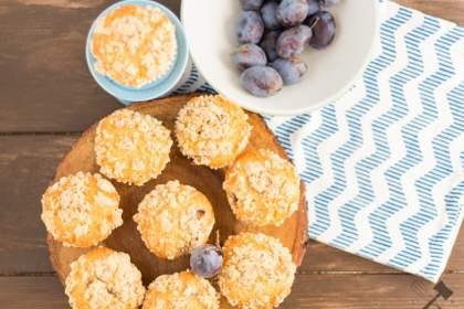 Zwetschgen Streusel Muffins