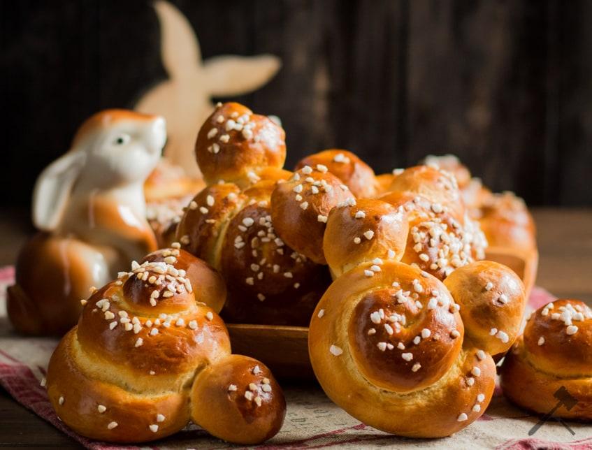 Germteig Osterhasen Happy Easter Law Of Baking