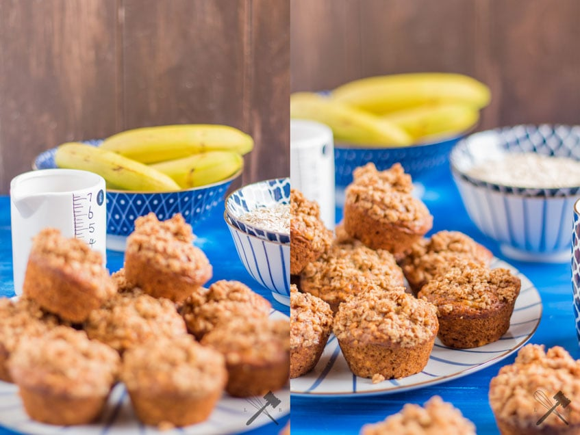 Bananen Haferflocken Muffins Werbung Law Of Baking