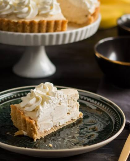 Banana Caramel Cream Pie
