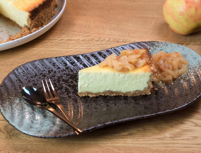 Apfel Cheesecake