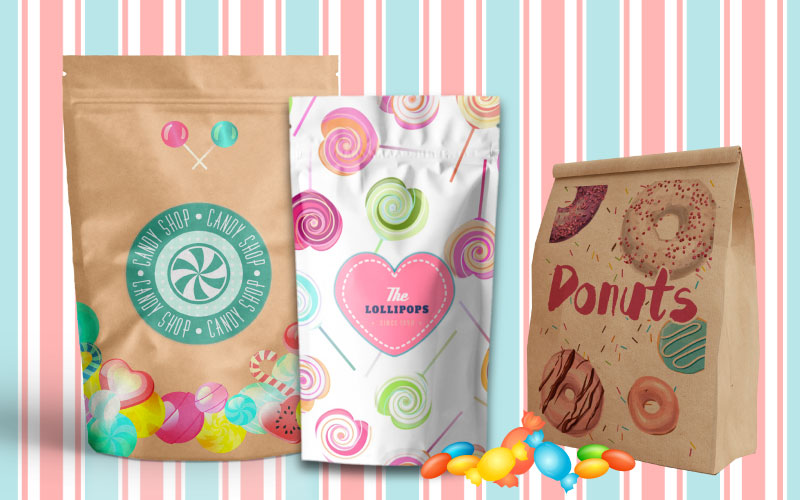 Confectionery Sweet Packaging Law Print Pack