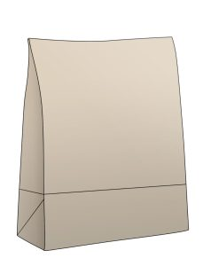 Kraft paper bags packaging