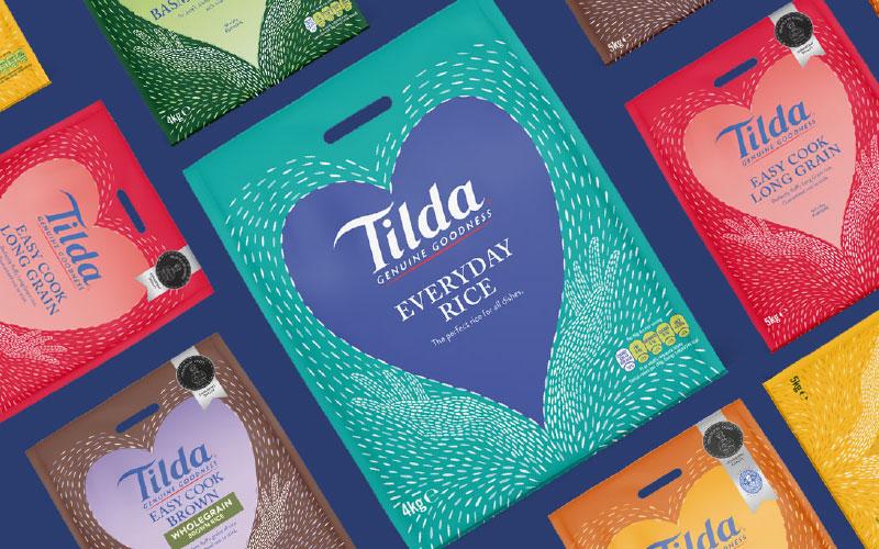 Tilda Rice Packaging Law Print Pack