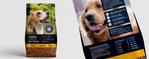 Tesco Complete Dog Food Small Dog Law Print Pack