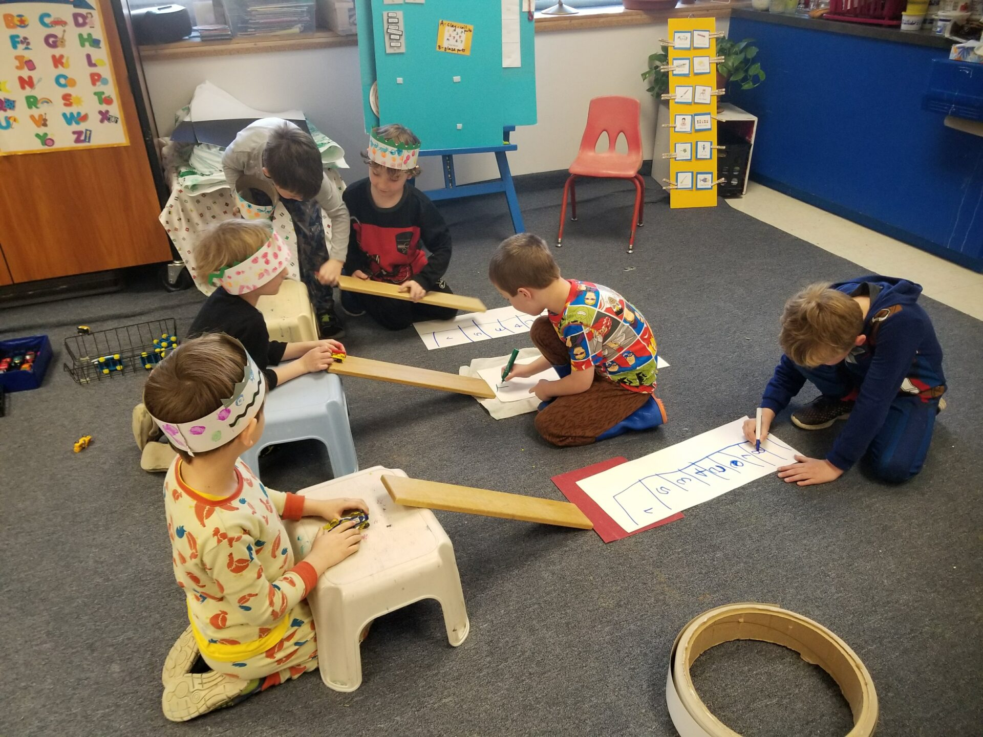 Kelly Galloway Kindergarten Takes Stem To Steam Lawrence