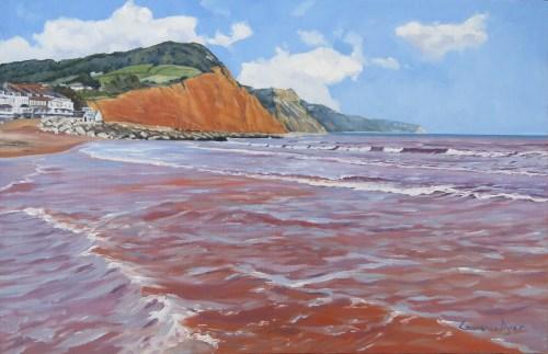 Sidmouth-byLawrenceDyer-oil-48x31cm-LDSI51015