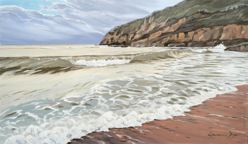 Summerleaze Tide Bude by Lawrence Dyer