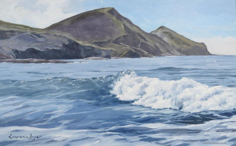 White Wave, Crackington Haven by Lawrence Dyer